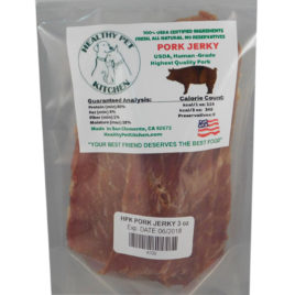 Pork Jerky Dog Treat